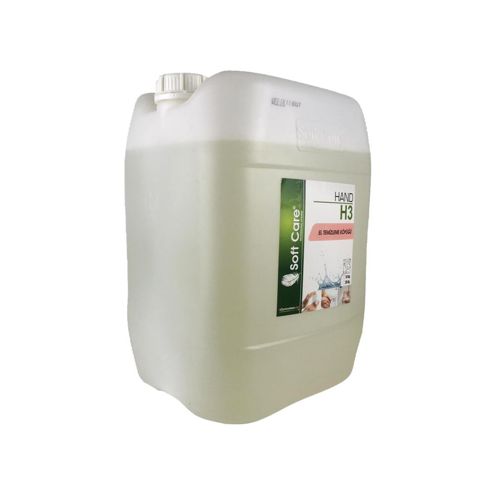 EL TEMİZLEME KÖPÜĞÜ 10 lt/kg SOFTCARE H3 HAND