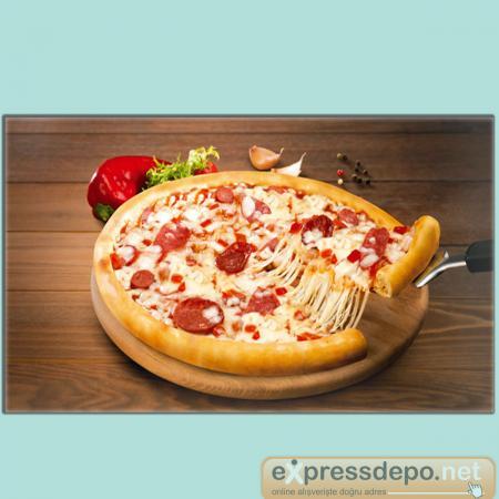 Pizza çeşitleri Superfresh Pizza Akdeniz Yeni 17 Cm 16 Adt Hindi