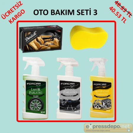 OTO BAKIM SETİ 3