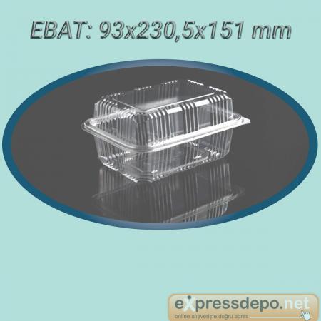 SIZDIRMAZ KAP 500 cc-gr 800 ADET PEYNİR KABI 14 gr