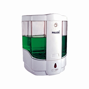 PALEX SENSÖRLÜ SIVI SABUN DİSPENSERİ PİLLİ 800 ML  BEYAZ