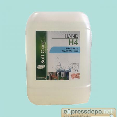 SOFT CARE H4 HAND HİJYENİK EL SIVISI 10 LT/9.40 KG