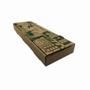 PİDE KUTUSU 3 cm 100 ADET AFİYET OLSUN 42x14x3 cm