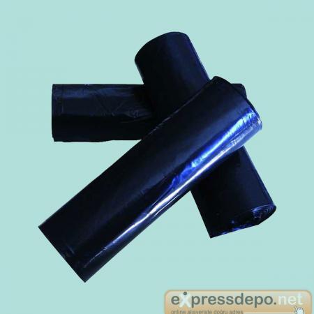 SUPER SOFT ÇÖP TORBASI 100x150 HANTAL 800 GR 10 LU x 10 RULO SİYAH
