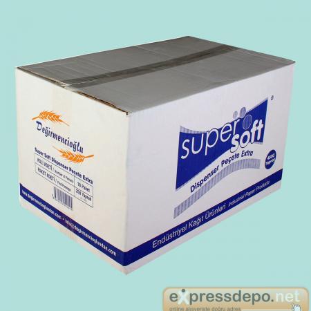 SUPER SOFT DİSPENSER PEÇETE 4500 LÜ EXTRA 3 KAT.