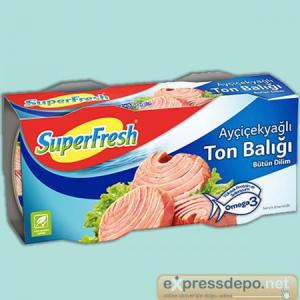 SUPERFRESH TON AYÇ. 160 GR X 24 (EDT)