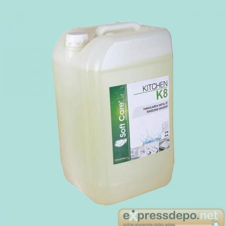 SOFT CARE K8 KITCHEN PORSELEN METAL İZİ ÇİZİK GİDERİCİ 10 LT/11 KG