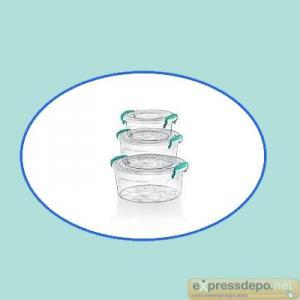 SAKLAMA KABI 3 LÜ YUV. MULTİ SET (0,6+1,2+2,1 LT)