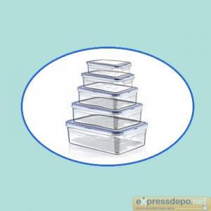SAKLAMA KABI 5 Lİ SIZDIRMAZ (0,4+0,8+1,4+2,6+4,3 LT)