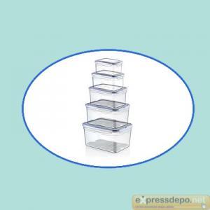 SAKLAMA KABI 5 Lİ SIZDIRMAZ (0,7+1,3+2,4+4,5+9,0 LT)