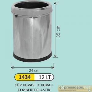 ARM ÇÖP KOVASI 12 LT İÇ KOVALI ÇEMBERLİ PASL.