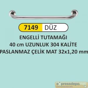 ARM ENGELLİ TUTUNMA BARI 40 CM PASLANMAZ