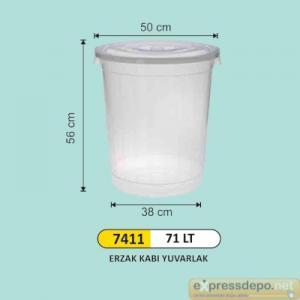 ARM ERZAK KOVASI PLASTİK 70 LT 3480