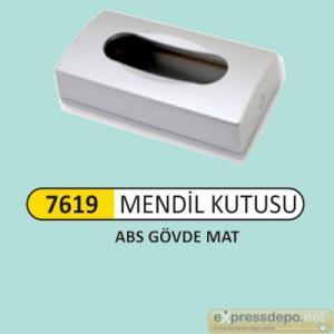 ARM KAĞIT MENDİL KUTUSU ABS MAT KROM 9290