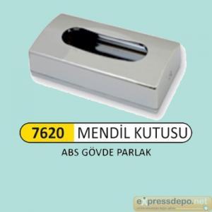 ARM KAĞIT MENDİL KUTUSU ABS PARLAK KROM 9284