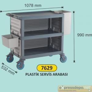ARM SERVİS ARABASI PLASTİK KAPALI