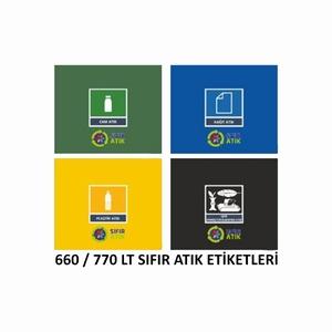 BASKILI ÇÖP KOVASI FARKI 660-770 LT İÇİN
