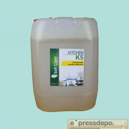 SOFT CARE K5 KITCHEN ELDE BULAŞIK YIKAMA DETERJANI 20 LT/20.25 KG