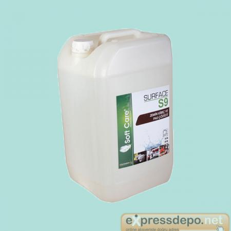 SOFT CARE S9 SURFACE ZEMİN KİREÇ VE PAS ÇÖZÜCÜ 10 LT/KG