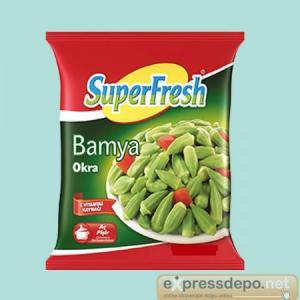 SUPERFRESH BAMYA TOMBUL 3,5/4,5 İTHAL 2,5 KG X 4
