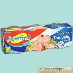 SUPERFRESH TON AYÇ. 80 GR X 24 (EDT)