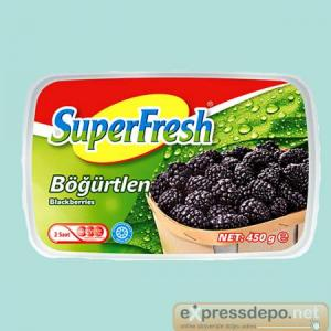 SUPERFRESH BÖĞÜRTLEN İRİ 2,5 KG X 4